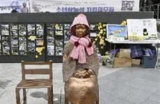 Hàn Quốc: Tượng 'Thiếu nữ hòa bình' thứ 10 được dựng ở nước ngoài