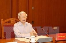 Tổng Bí thư Nguyễn Phú Trọng chủ trì cuộc họp phòng, chống tham nhũng