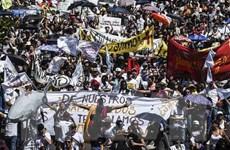 Gần 300 người thương vong trong cuộc tổng bãi công tại Colombia
