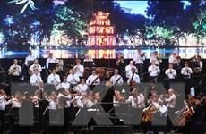 Dàn nhạc Lực lượng vệ binh quốc gia Nga lần đầu biểu diễn tại Việt Nam