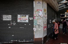 Hoạt động kinh doanh ở Hong Kong giảm mạnh nhất trong 21 năm qua