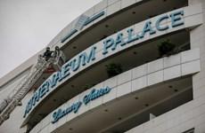 Hy Lạp: Lửa bùng phát tại khách sạn 4 sao, nhiều người được giải cứu