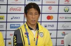 HLV Nishino bị báo chí Thái chất vấn khi không thể thắng U22 Việt Nam