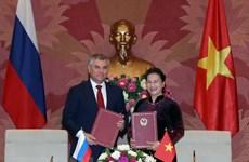 Hợp tác Nghị viện Nga-Việt: Hướng tới kết quả cụ thể và thực tiễn