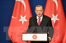 Tổng thống Thổ Nhĩ Kỳ chỉ trích Tổng thống Pháp về 'khủng bố Hồi giáo'