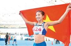 Vận động viên Nguyễn Thị Oanh 'mở hàng' huy chương Vàng ngày 10/12