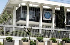 Nhiều ôtô bị đốt cháy gần Đại sứ quán Mỹ ở thủ đô của Hy Lạp