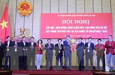 Hà Nội thưởng hơn 6 tỷ đồng cho các VĐV đoạt huy chương tại SEA Games