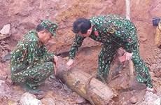 Quảng Bình: Xử lý thành công một quả bom nặng hơn 220kg