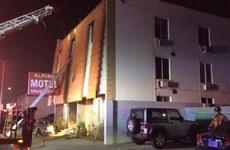 Cháy chung cư tại thành phố Las Vegas, nhiều người thương vong
