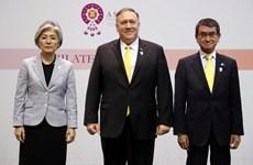Mỹ chưa quyết định về cuộc hội đàm ngoại trưởng 3 bên với Hàn, Nhật