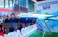 Thủ tướng chúc mừng Bamboo Airways đón máy bay thân rộng đầu tiên