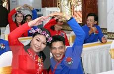 Ấm áp lễ cưới tập thể cho 50 cặp vợ chồng khuyết tật ở TP.HCM
