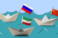 Tam giác mới của cường quốc biển Trung Quốc-Nga-Iran hành động