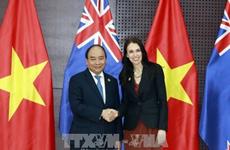 [Video] Thủ tướng Nguyễn Xuân Phúc hội kiến Thủ tướng New Zealand