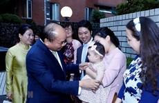 [Video] Thủ tướng gặp gỡ cộng đồng người Việt tại Nhật Bản