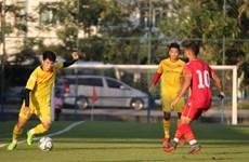 U23 Việt Nam thua 1-2 trước U23 Bahrain trước thềm VCK U23 châu Á