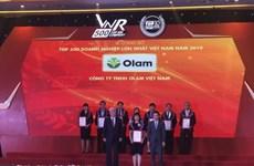 Công bố tốp 500 doanh nghiệp lớn nhất Việt Nam năm 2019