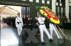 Hình ảnh lễ tang 3 liệt sỹ Công an nhân dân hy sinh tại Đồng Tâm
