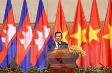 Cộng đồng và doanh nghiệp Việt Nam tại Campuchia vui đón Tết cổ truyền