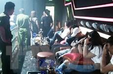 Đột kích quán bar, phát hiện hàng chục người dương tính với ma túy