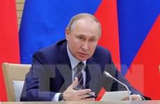 Tổng thống Putin thảo luận với Hội đồng châu Âu về các vấn đề nóng