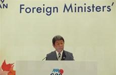 Ngoại trưởng Nhật cam kết giải quyết 'vấn đề tồn tại' với Trung Quốc