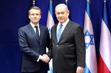 Pháp, Israel nhất trí đối thoại chiến lược về các vấn đề khu vực