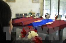 Lễ truy điệu các nạn nhân thiệt mạng trong vụ cháy nhà kính ở Nga