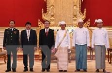 Tổng thống Myanmar U Win Myint đánh giá cao hợp tác với Việt Nam