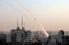 Israel tiếp tục không kích các mục tiêu của Hamas tại Dải Gaza