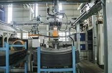 Nhíp ôtô - một trong những sản phẩm xuất khẩu chủ lực của THACO