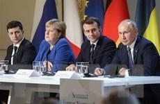 Lãnh đạo Ukraine và Nga điện đàm về hội nghị Bộ tứ Normandy