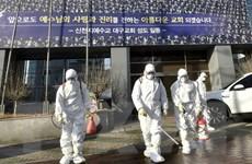 """Hàn Quốc: Số ca nhiễm COVID-19 lên tới 208, """"tình hình nghiêm trọng"""""""