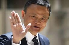 Jack Ma giành lại 'ngôi vương' người giàu nhất ở châu Á