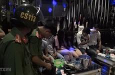 Phá tụ điểm tập trung sử dụng ma túy trong quán karaoke tại Nam Định