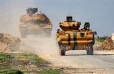 Nga và Thổ Nhĩ Kỳ cắt ngắn cuộc tuần tra chung tại Idlib