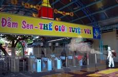 TP Hồ Chí Minh tạm ngừng hoạt động khu vui chơi giải trí, nhà hàng