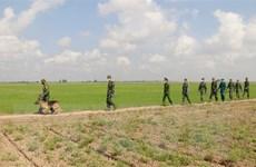 Chuyện về những chiến sỹ cắm chốt chống dịch nơi biên giới