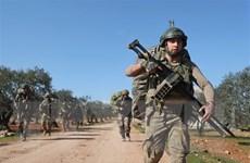 Lực lượng Thổ Nhĩ Kỳ nã pháo vào khu vực Đông Bắc Syria