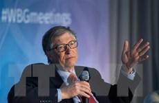 Bill Gates kêu gọi G20 tài trợ nhiều hơn để nghiên cứu vắcxin COVID-19