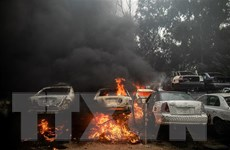 Chiến sự leo thang ở Libya, thủ đô Tripoli rung chuyển do nhiều vụ nổ