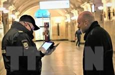 Hình ảnh nước Nga ngày đầu thực hiện thẻ thông hành điện tử mã QR