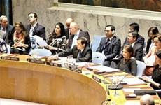 Việt Nam hoàn tất sớm Báo cáo tháng Chủ tịch Hội đồng Bảo an