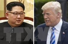 Tổng thống Trump thông báo nhận được một bức thư từ ông Kim Jong-un