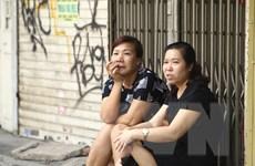 Hình ảnh người Hà Nội chủ quan, lơ là trong thực hiện giãn cách xã hội
