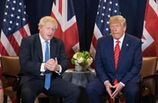 Thủ tướng Anh điện đàm Tổng thống Mỹ sau khi điều trị khỏi COVID-19