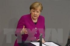 Uy tín của liên minh cầm quyền tại Đức tăng lên mức cao nhất