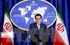 Iran chỉ trích nỗ lực của Mỹ nhằm gia hạn lệnh cấm vận vũ khí