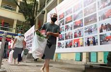[Photo] Chợ Nhân đạo hỗ trợ người khuyết tật, hoàn cảnh khó khăn